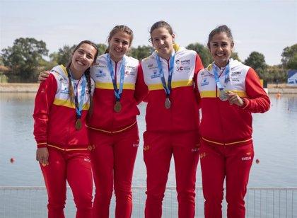 España se cuelga diez medallas en la Copa del Mundo de Esprint y Paracanoe