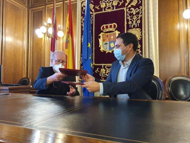 Convenio entre el Obispado y la Diputación de Cuenca.