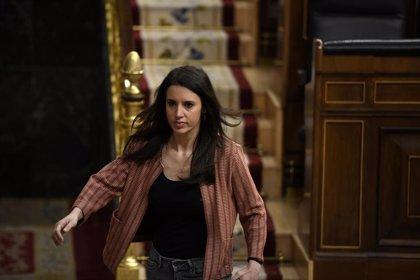 """Irene Montero explica en el Congreso su """"responsabilidad"""" en la convocatoria del 8M durante el Covid"""