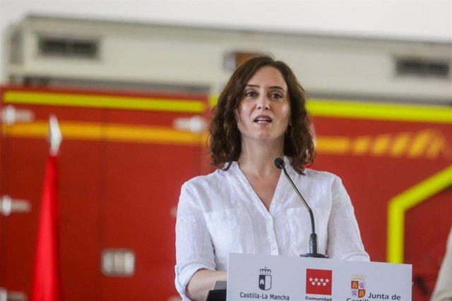 Foto recurso de la presidenta de la Comunidad, Isabel Díaz Ayuso.