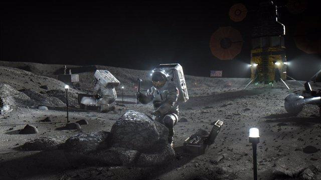 La Luna presenta niveles de radiación peligrosos
