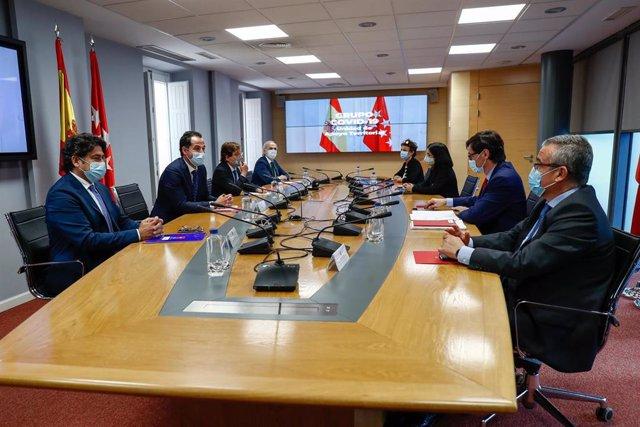 Primera reunión del Grupo COVID-19 en Madrid (España), a 22 de septiembre de 2020.
