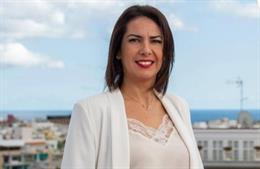 Evelyn Alonso, concejal de Desarrollo Económico del Ayuntamiento de Santa Cruz de Tenerife
