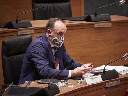 """NA+ y EH Bildu insisten en que los datos de Covid en Navarra son """"malos"""" y el resto no los ven equiparables a Madrid"""