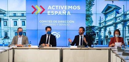 """Cvirus.-Casado pide a Sánchez criterios objetivos para todas CCAA y no poner solo a Madrid en el foco: """"Es desleal"""""""