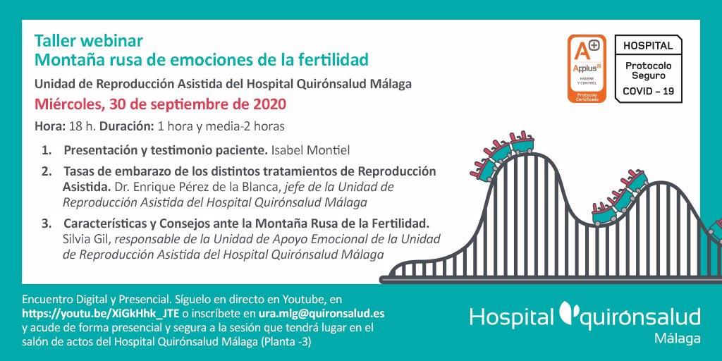 Quirónsalud Málaga imparte un taller presencial y online sobre la montaña rusa emocional de la fertilidad 3