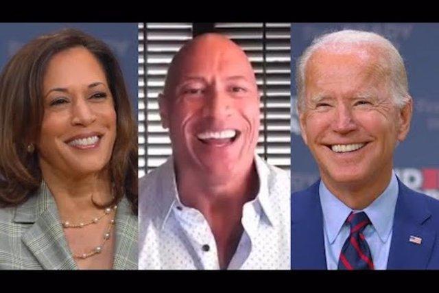 Dwayne 'The Rock' Johnson anuncia que votará a Joe Biden