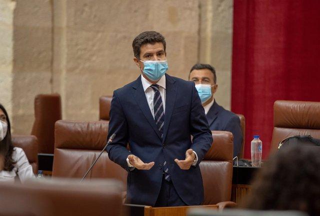 """Cs registra una PNL en el Parlamento andaluz para reclamar al Gobierno el """"debid"""