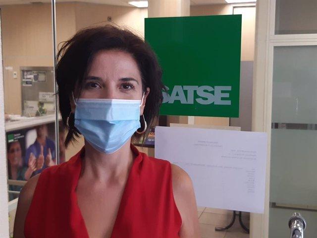 Teresa Galindo Rubio, Secretaria General de SATSE Madrid