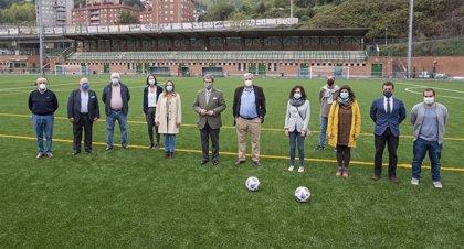 Bilbao invierte más de 227.000 euros en mejorar las instalaciones deportivas de Basurto, Artxanda, Mallona y Errekalde