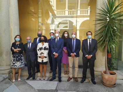 El TSJ de Extremadura celebra la apertura del año judicial 2020-2021 con una declaración institucional