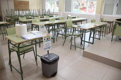 C-LM ha aislado al 1,3% del alumnado por coronavirus aunque solo se han detectado casos en el 0,13%