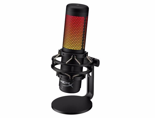 HyperX lanza su micrófono QuadCast S con efectos de iluminación RGB ajustables