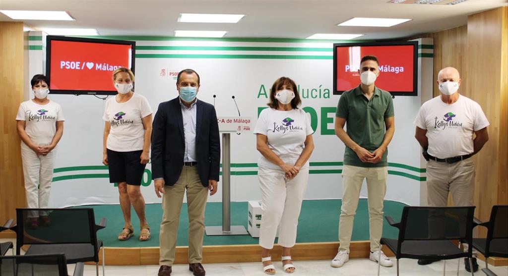 """El PSOE de Málaga reclama a la Junta """"más atención"""" a residencias y que """"actúe con contundencia"""" frente COVID 3"""