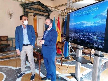 Quintana afirma que la campaña 'Seguramente Oviedo' logró salvar dos millones de euros en pernoctaciones