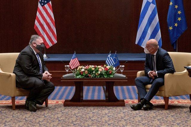 """Grecia/Turquía.-Pompeo reafirma el compromiso de EEUU con una """"solución pacífica"""