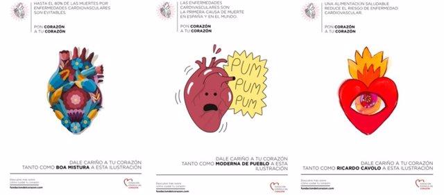 Campana de la Fundación Española del Corazón con motivo del Día Mundial del Corazón