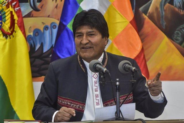 Bolivia.- Morales vincula su posible regreso a Bolivia a los resultados de las e