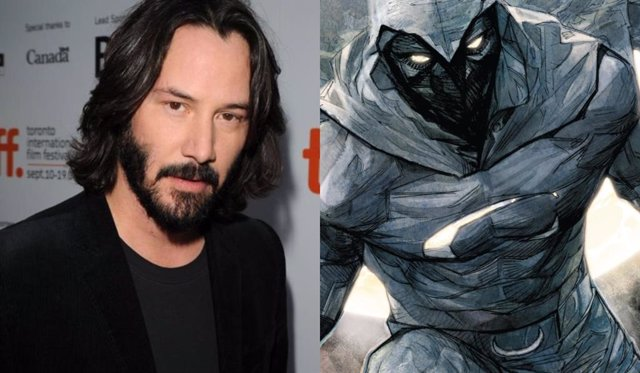 Marvel quiere que Keanu Reeves sea su Moon Knight
