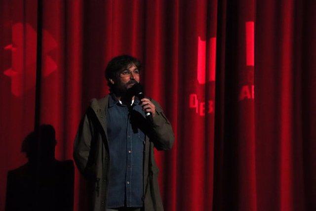 El periodista Jordi Évole presenta la seva pel·lícula 'Eso que tú me das', que s'estrena als cinemes aquest dimecres, a 28 de setembre de 2020. (Horitzontal)