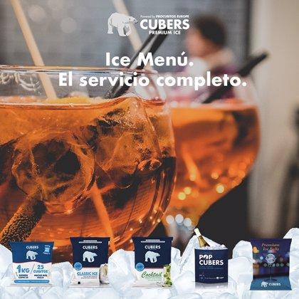 COMUNICADO: Cubers, empresa líder en su sector, crea el Ice Menú, la primera carta de hielo con 5 variedades premium