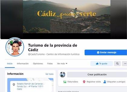 La página de Facebook del Patronato de Turismo de Diputación de Cádiz supera los 100.000 seguidores