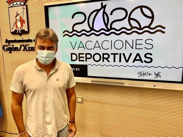 José Ramón Tuero, concejal de Actividad Física y Deporte del Ayuntamiento de Gijón