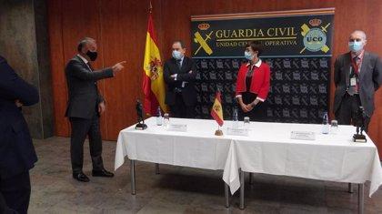 La directora de la Guardia Civil agradece a los agentes del 'caso Manuela Chavero' su constancia durante cuatro años
