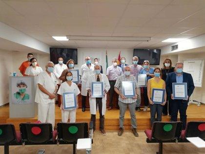 Siete unidades del Área de Gestión Sanitaria Sur de Granada certifican la calidad de sus servicios