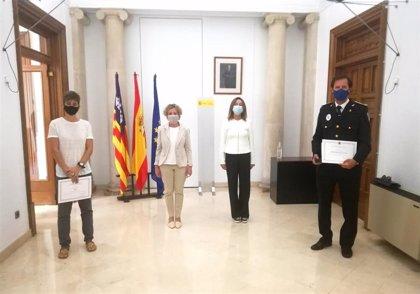 Medallas al mérito penitenciario reconocen la labor de colectivos y cuerpos y fuerzas de seguridad en estado de alarma