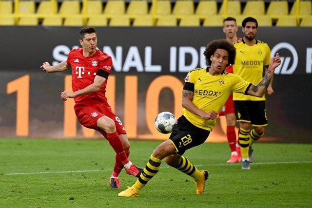 Fútbol.- La Supercopa alemana entre el Bayern y el Dortmund será sin público