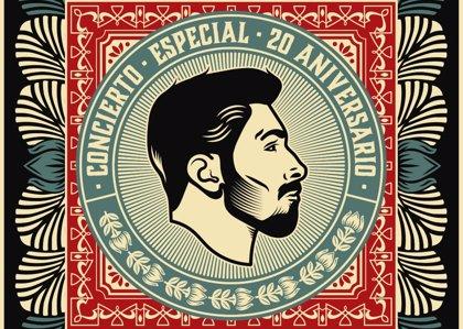 Concierto de Rayden en el WiZink Center de Madrid para celebrar sus 20 años en la música
