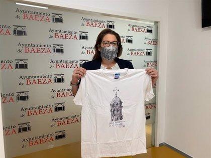 El Ayuntamiento de Baeza (Jaén) diseña mascarillas y camisetas con lugares emblemáticos de la ciudad