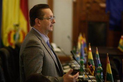 AMP.- Bolivia.- Los ministros de Economía y de Trabajo salen del Gobierno de Áñez en Bolivia en medio de discrepancias