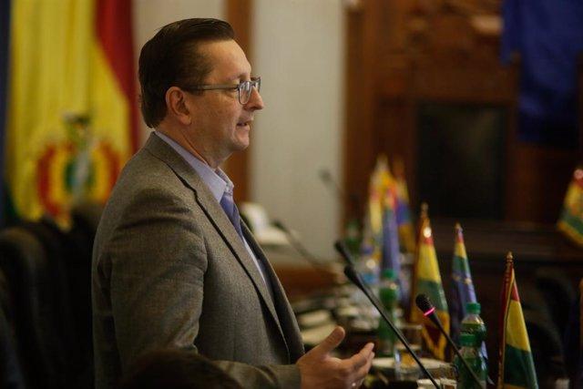 AMP.- Bolivia.- Los ministros de Economía y de Trabajo salen del Gobierno de Áñe