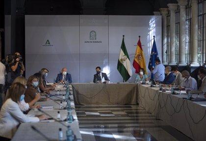 Moreno preside la reunión del comité asesor que analiza las medidas sobre el Covid-19 que la Junta aprobará este martes