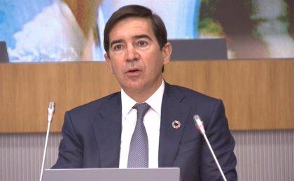 """Torres (BBVA) ve una """"gran oportunidad"""" en los fondos europeos y resalta el rol de la banca en la crisis"""