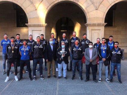 El Club Voleibol Teruel visita la DPT con su novena Supercopa de España