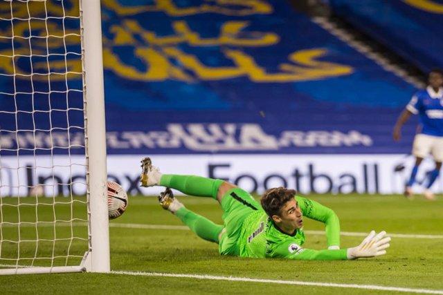 """Fútbol.- Lampard: """"Tengo que proteger a Kepa porque juega con profesionalidad y"""