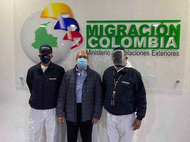 Llegada del exparamilitar 'Jorge 40' a Colombia, extraditado desde Estados Unidos