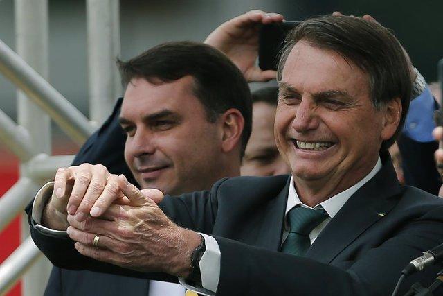 Brasil.- La Fiscalía de Río de Janeiro denuncia a uno de los hijos de Jair Bolso