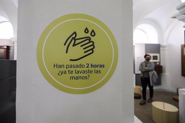 El Museo Nacional de Colombia, en Bogotá, reabrió sus puertas el pasado primero de agosto bajo estrictas medidas de seguridad, después de varios meses cerrado por la crisis sanitaria provocada por la pandemia.
