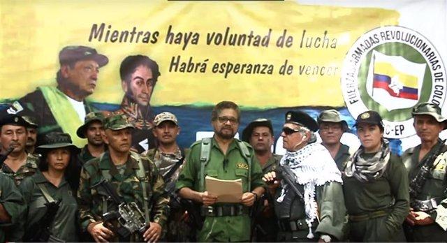 ÛIván Márquez', 'Jesús Santrich',  y otros disidentes de las FARC anuncian la vuelta a las armas