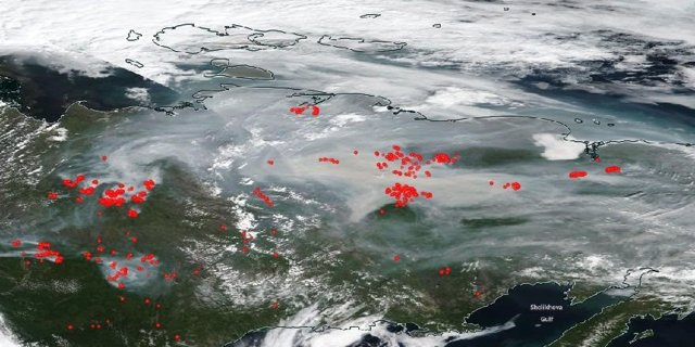 Incendios zombis se adueñan del Ártico recalentado