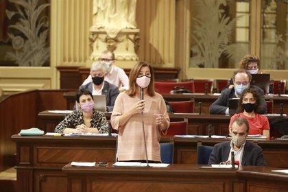 Armengol resalta que la ocupación ilegal ha disminuido un 19,5% en Baleares en el primer semestre