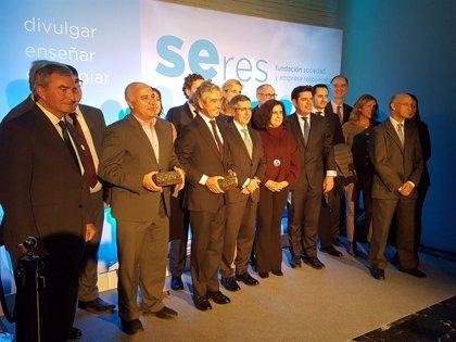 Fundación Seres entregará sus premios anuales el 28 de octubre a Correos, Fundación Mapfre y Red Eléctrica