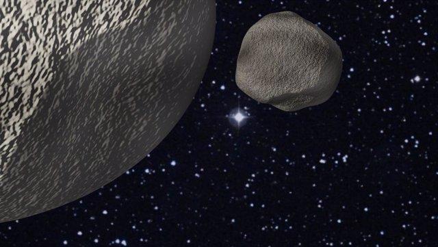Un distante objeto transneptuniano resulta un binario apenas separado