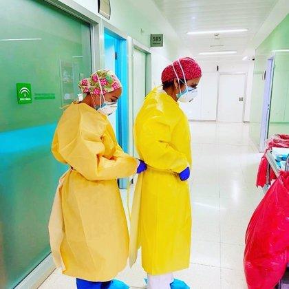 Andalucía supera los 1.100 hospitalizados por Covid-19, 154 de ellos en UCI