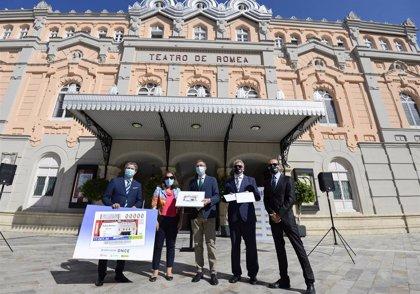 El Teatro Romea reivindica la cultura y las artes escénicas a través del cupón nacional de la ONCE