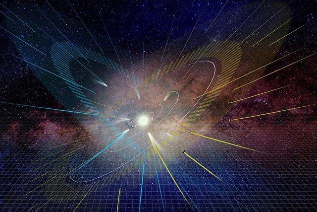 Cometas revelan un segundo plano de alineación del Sistema Solar